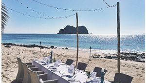 Indulgence Wedding Package - Vomo Island