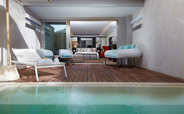Double Six Luxury Hotel Seminyak -  Deluxe Suite Plunge Pool