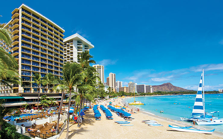 Outrigger Waikiki Beach Resort - Exterior