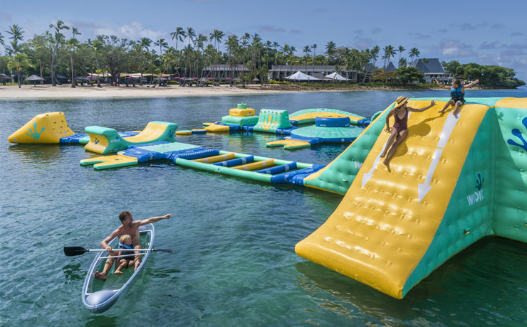 Shangri-La Fijian Resort & Spa - Water Park