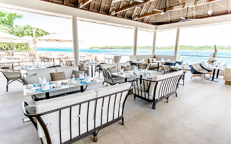 Shangri-La Fijian Resort & Spa - Golden Cowrie Coastal Italian Restaurant
